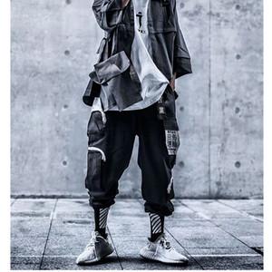 Herrenhose Männer High Street Harem Multi Pockets Harajuku Streetwear Hip Hop Dark Style Hose Elastische Taille Sweatpants Qualität