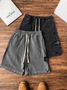 2020 rue de travail marque de coton pantalon classique short coutures détail parfait cool bande réfléchissante short de course de travail pour les hommes
