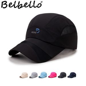 Casquette de baseball Belbello été pour hommes Extérieur chapeau en toile respirante en filet respirant à séchage rapide pour femmes alpinisme parasol écran solaire Y19070503