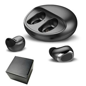 S135 TWS Mini Kablosuz Kulaklık Bluetooth V5.0 Kulaklık HiFi Kulaklık Kılıf için iphone Samsung Huawei Xiaomi Şarj ile