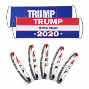 Free Fast Shipping 24x70cm 2020 President Election Hand Held Trump Keep America Great Flag Bumper Stickers for Supporting Collapsible Banner
