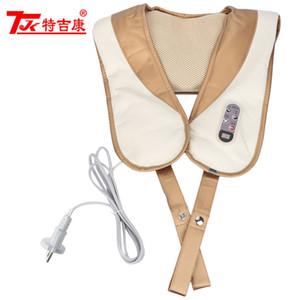 TJK Elektrische Massagetücher Halswirbel Hals Schultermassagegerät Körper Massager Infrarot Kneten Auto / Home Messager BB
