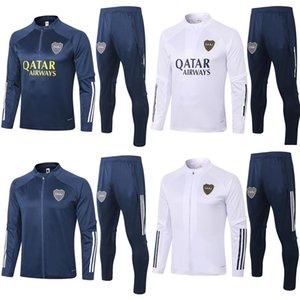 S-XXL 2020 Boca Juniors zipper jacket track suit 20 21 Boca Juniors Windbreaker football training set GAGO TEVEZ PAVON training suits S-XXL