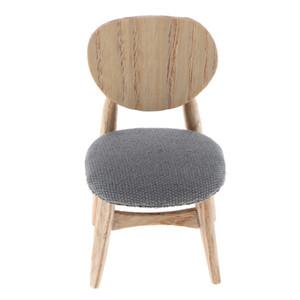 Muebles del Dollhouse 1/12 moderna de madera Silla de comedor de comedor Sala de estar Cocina Jardín Decoración
