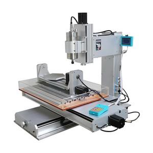 Máquina de grabado vertical CNC 3040 3 ejes 4 ejes 5 ejes tipo columna VFD husillo 2.2KW para procesamiento industrial enrutador CNC