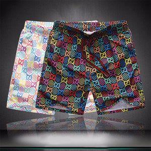 20ss летние роскошные шорты новый дизайнер доска короткие быстросохнущие купальники печатная доска пляжные брюки мужчины мужские плавательные шорты q8