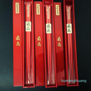 Chinês Chopsticks de madeira Chopsticks de madeira com Holder e Box China Chop Sticks presentes de casamento Louça Home Kitchen Dining
