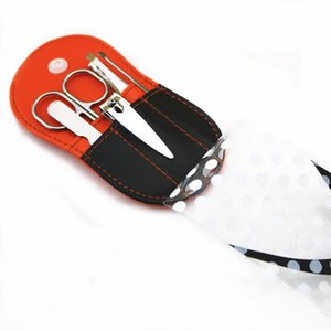Flip-Flop Pedicure Kit Slipper Nagel-Maniküre-Set Brautduschenbevorzugungen Wedding Favor-Partei-Geschenk Souvenirs