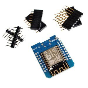 ESP8266 ESP-12 ESP12 WEMOS D1 Mini Módulo WEMOS D1 Mini WiFi Confless Board Micro USB 3.3V Basado en ESP-8266EX 11 PIN DIGITAL