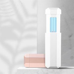DHL Ship Ultraviolet Descfection Lamp Mini Sanitizer UV Salization Lights Travel flight uv flight Household Car FY6111