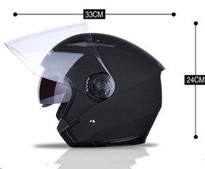 CarBest Full Face Flip up Modular Motorcycle Helmet DOT Approved Dual Visor Motocross Black L