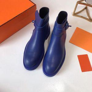Venda-2019 Hot nova marca ankle boot Veo Buckle ankle boots Designer booties luxo Carregador da forma motocycle das mulheres