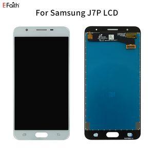 EFAITH Oem visor LCD para Samsung Galaxy J7 primeiro-G610 G610F G610M G610Y G610F / DS substituição digitador Tela Parts DHL livre