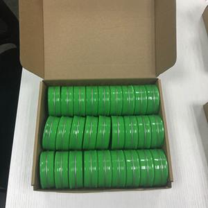 27 Cans Pezzi 60g Multi-Colored rotonda in alluminio Vite coperchio verde piccolo metallo barattoli vasi vuoti slip slide Container (2 oz)