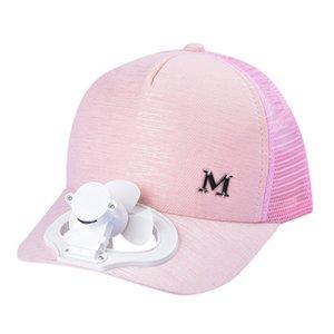 Summer Fashion Cap avec ventilateur de refroidissement confortable cheval Sports Hat Baseball Cap crème solaire respirante avec chargement USB