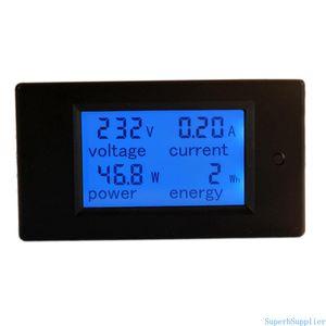 AC 80-260V 100A Digital Current Voltage Power Energy Analyzer Meter Ammeter Voltmeter with Open-Close Current Transformer Split Core CT
