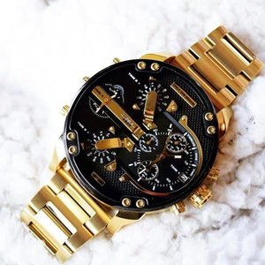 Higt Qualität Sport Militär Montres Mens neue Reloj 55mm großes Zifferblatt Display Diesel Uhren DZ Uhr DZ7333 DZ7332 DZ7315