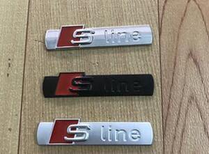 Передняя решетка 3D S Line Sline автомобилей герба Знак сплава металла Наклейки Аксессуары Стайлинг для Audi A1 A3 A4 B6 B8 B5 B7 A5 A6 C5 C6 A7 TT