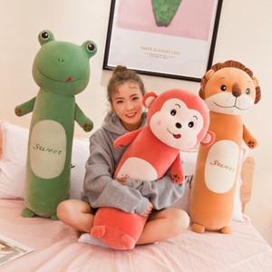 Crianças Plush Dolls Crianças Stuffed Toys Children Macio Longo Dormir cilíndrico Almofadas Childrens criativa Dolls 2020 Novas Coelhos Brinquedos Novos