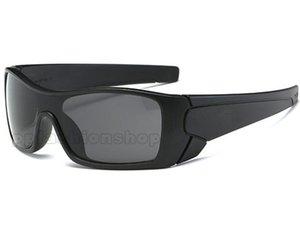 Batwilf 매트 블랙 무 편광 선글라스 승마 스포츠 9101 샴 안경 플러스 원래 상자 안경 천 9 색상