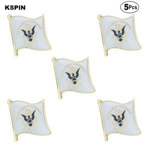 de la Garde côtière Brooches épinglette insigne drapeau Broche Pins Badges un Lot