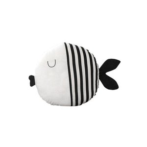 패션 소프트 PP 면화 실내 자동차 장식 모양의 물고기 플러시 스트라이프, 폴카 도트 베개 3 년 된