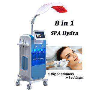 8 IN 1 Hydrafacial Cilt Cleasing Yüz Bakım Makinesi Hydra Peel Diamond Dermabrazyon Yaşlanma Karşıtı Hidro Mikrodermabrazyon Ekipmanları