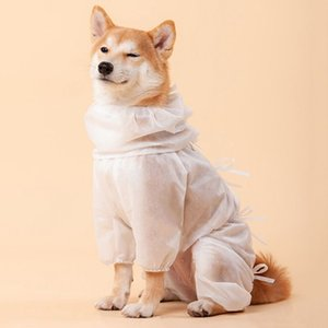 Desechables Mascotas Perros Ropa de protección Ropa de luz a reducir las bacterias pelos de animales domésticos Safty Accesorios Suministros