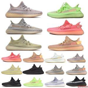 Cheap Sale Cloud White Citrin Antlia Synth Lundmark Black Static GID Clay Cream White Zebra running shoes Kanye West mens designer shoes