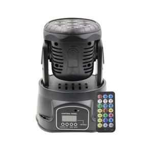 7 lentilles pleine tête mobile lumière Cocolor LED Par Light Light 4in 2 DMX Stage effet de lumière pour Disco DJ Musique Party Light avec télécommande