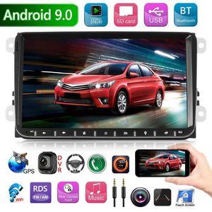 9 pouces Android 9 .0 voiture Radio 2 Din Autoradio MP5 Navigation GPS Bluetooth Wifi Rds Am Radio Fm Autoradio