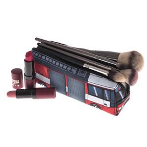 BOLEKE Train 3D Printing Cosmetic bag women makeup bag 2019 Fashion New trousse de maquillage pouch travel organizer necessaire