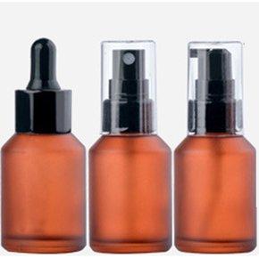 30ml cosméticos Viales aceite esencial gotero de vidrio Pipetas botella de loción tubo de la bomba de perfume atomizador fina niebla helada de la piel cuidado envase