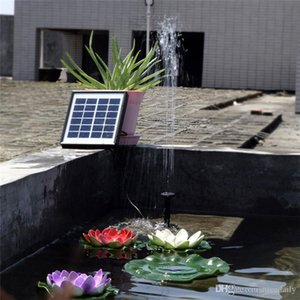 Solar-Powered Water Pump Kit 12V 5W Solar Panel Water Floating Solar Powered Fountain for Bird Bath Pond Garden Water Pump Pool