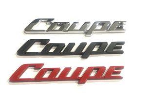 Coupe Metal Sticker Paste Car Auto Vehicle Logo badge Emblem Black Red Silver General purpose model