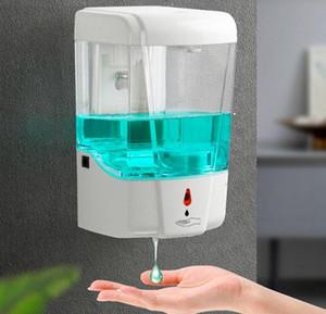 700ML الحائط الصابون السائل موزع المنزلية السفر منزل التلقائي موزع الصابون هلام الاستحمام تماس مربع الشامبو FFA4140