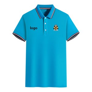 Cambridge United FC Sommer Männer Slim Fit Golf-Polo-T-Shirt Kurzarm-Polo-lässigen T-Shirt Sport
