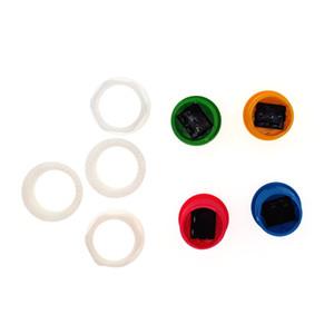 12 adet Kalite 24mm arcade anlık push button anahtarı ile vidalı kapak, oyun makinesi için 2.8mm için bağlayıcı