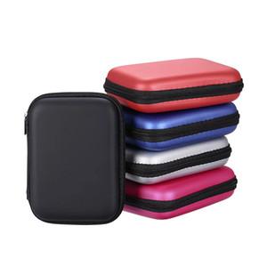 보호 표준 2.5 ''GPS 하드 디스크 드라이브 장치를위한 패션 휴대용 지퍼 외부 2.5 인치 HDD EVA 가방 케이스 파우치