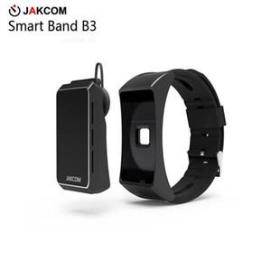 Venta caliente del reloj elegante de JAKCOM B3 en las pulseras elegantes como la nueva televisión de la lente del teléfono celular del teléfono de tecno