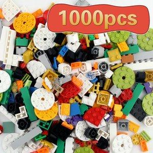 1000 Pièces Bricolage Blocs de Construction Ensembles Ville Briques Créatives Compatible Toutes Les Marques Éducatif Classique Assembler Jouets Pour Enfants