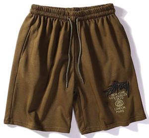 Moda-Y-3 verão novos homens de alta qualidade placa de praia calções de secagem rápida de verão calções de placa de hip-hop calças casuais dos homens