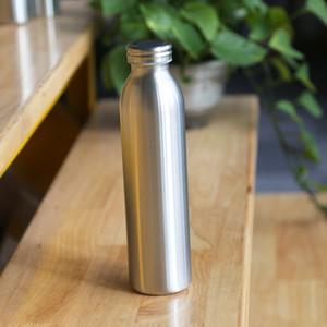 20 oz bouteille de lait en acier inoxydable à double paroi vide tasse de café isolé Bouteille de bière Bouteille Kid lait avec Leakproof Cap Cup A03 Voyage