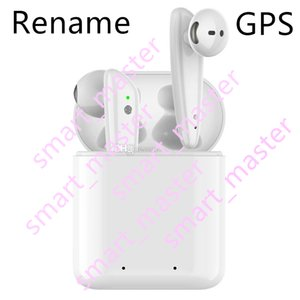 chip de New H1 TWS Pop up AP3 pro fone Rename GPS Top Qualidade de Som de carregamento sem fio Bluetooth Earphones Baixo Earbuds pods de sensor inteligente