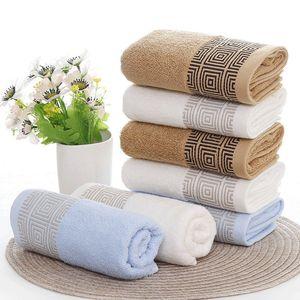 جودة عالية 3 قطعة / المجموعة القطن حمام منشفة مجموعة jogo دي toalhas دي banho 1pc حمام منشفة ماركة 2 قطع الوجه المناشف