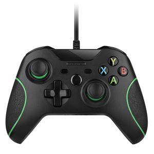 USB السلكية تحكم كونترول لمايكروسوفت إكس بوكس وان المراقب المالي Gamepad لأجهزة إكس بوكس ون سليم ويندوز ماندو لأجهزة إكس بوكس ون جويستيك