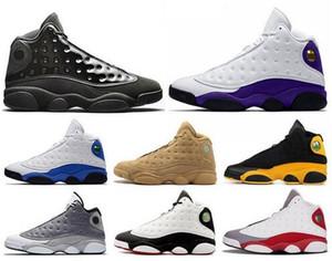 Avec la boîte de haute qualité 13 Bred Chicago Flint Gris Hommes Femmes Chaussures de basket-ball 13s Il Got Game Melo DMP Hyper Royale J13 rétro sneakers