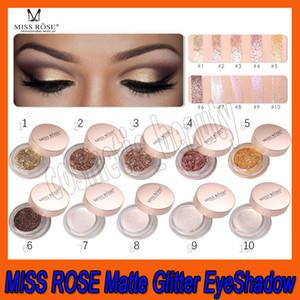 .MISS ROSE 3D Gesicht unterstreicht flüssige Körper Schimmer Creme Lidschatten Bling Meerjungfrau Flash Puder bunte Single Glitter Lidschatten 10 Farbe