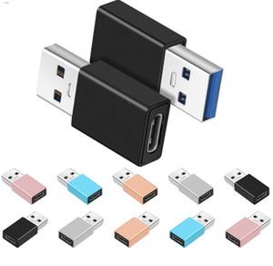 USB C Kadın Tipi 3.0 Tip A Erkek Altın Kaplama USB Smartphone 3.1 C Tipi Konnektör Dönüştürücü Adaptör
