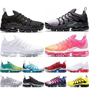 vapormax air max airmax TN plus HavaVapormaxartıkoşu ayakkabıları Tasarımcı OG Üçlü Beyaz erkekler kadınlar Bumblebee Gri Gerçek Medyum Pembe spor ayakkabılar Be Soğuk